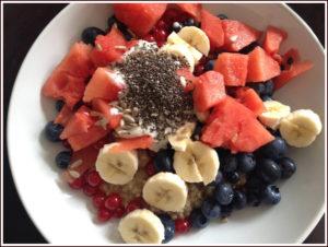 Frühstücksbrei Brei